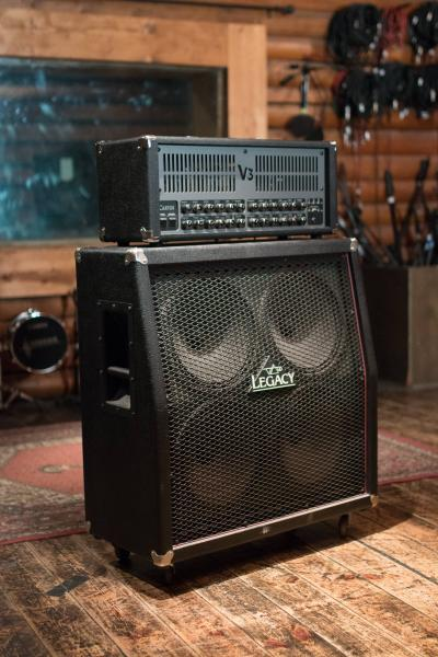 Carvin V3 100w + C412T 4x12 Legacy Top Cabinet