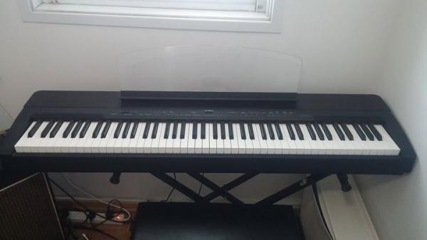 תוספת הבזאר- לוח יד שניה, דרושים | פסנתרים חשמליים / אורגנים | YAMAHA P-140 DT-43