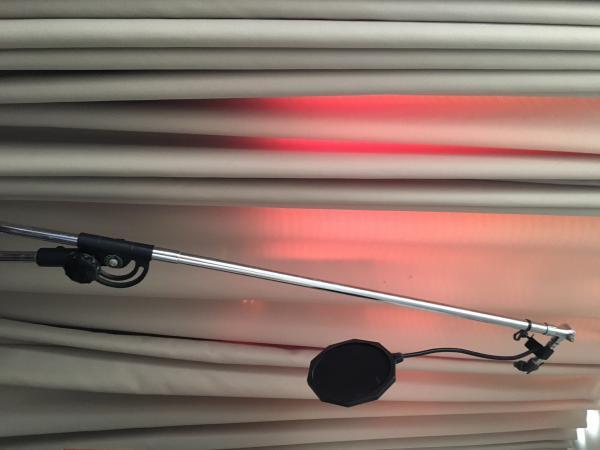 סטנד מיקרופון Boom אטלס (ייבוא אישי) למיקרופון אולפן גדול