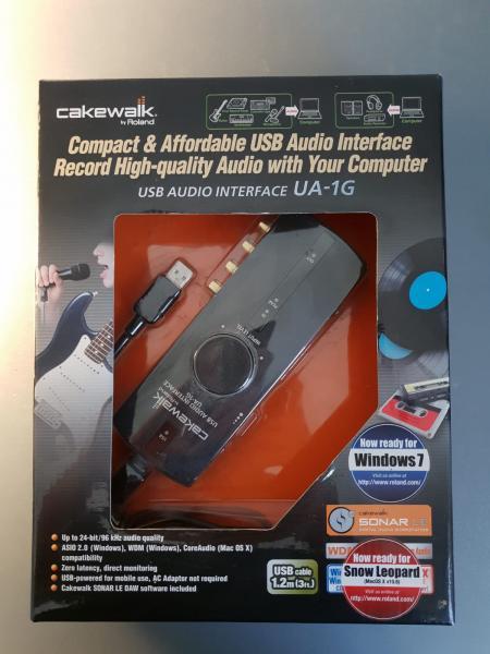 כרטיס קול CAKEWALK UA-1G