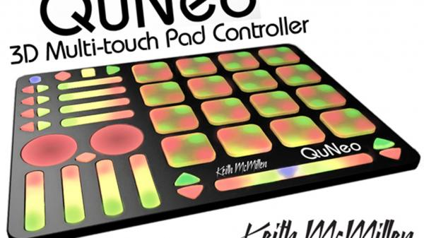 QuNeo, 3D Multi-touch