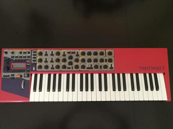 nord lead 3 keyboard synth למכירה או החלפה מעניינת של סינטי אחר