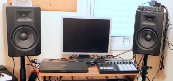 מוניטורים M-Audio BX8 שמורים כחדשים!