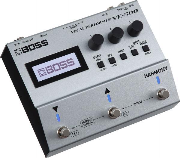 הרמונייזר /ווקודר לשירה BOSS VE500