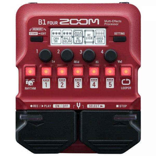 Zoom Multi Effect Pedal לבס