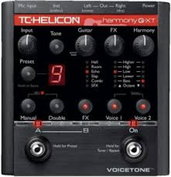 tc helicon harmony gxt